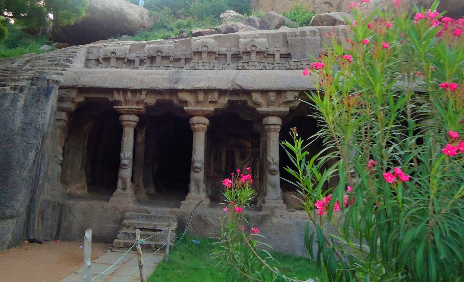 A Rich Cultural Heritage - A picture of a monolithic cave