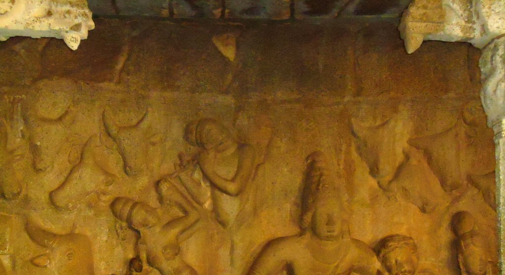 A Rich Cultural Heritage - A view of a sculpture at Mahabalipuram