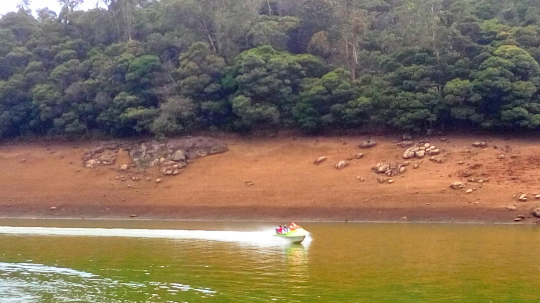 Speed Motor Boating on Lake Pykara