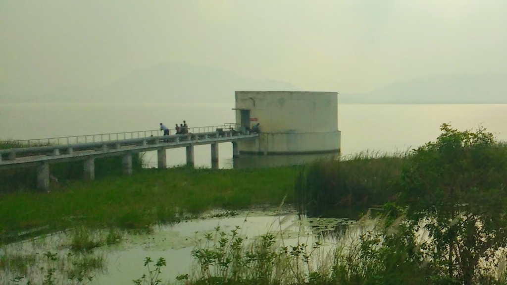 Where is the Bridge? - A view of a bridge on a lake