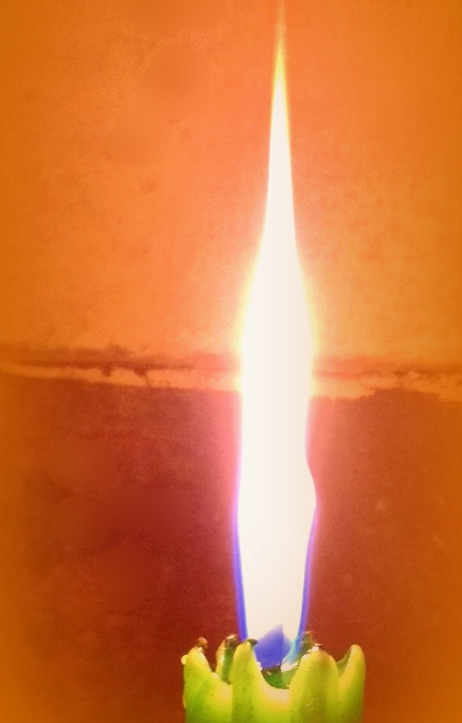 Elemental Existence - An image of the flame of a candle