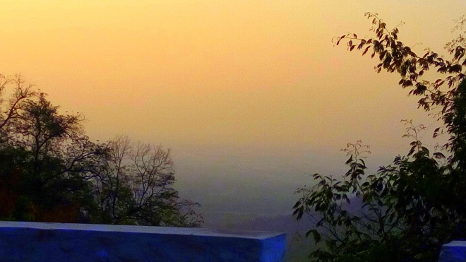 Silence is Golden - A view of the Sky (Sunlight) at Dawn