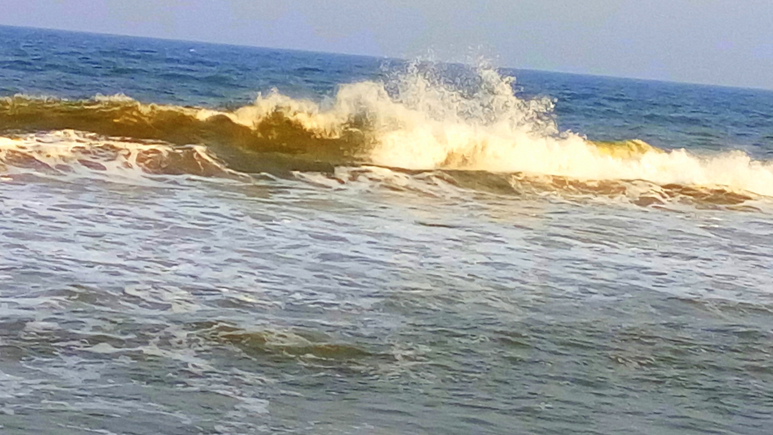 Dancing Water - A picture of dancing waves of the sea