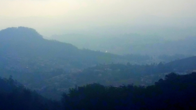 Layers or Ranges? - A view of misty Mountain Ranges