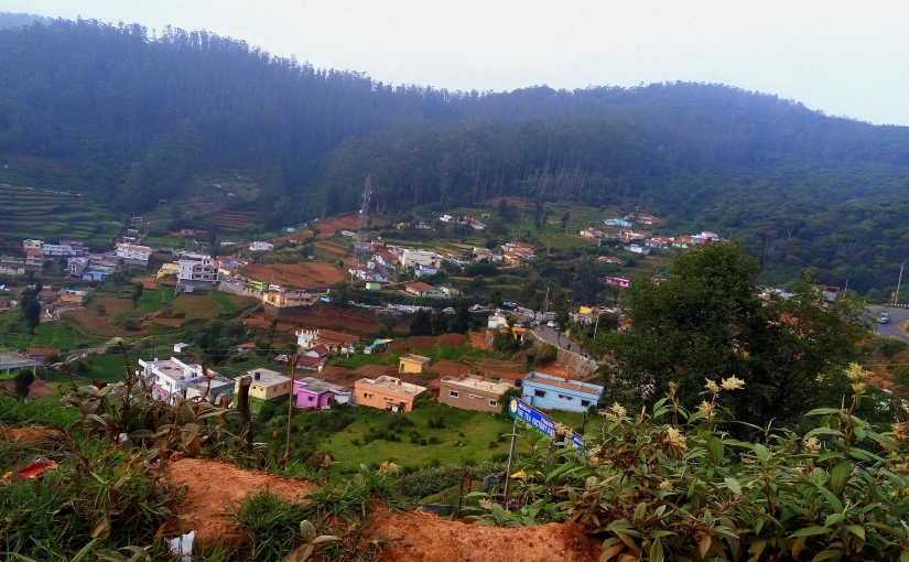Scale Your Growth - An aerial view of the city of Ooty