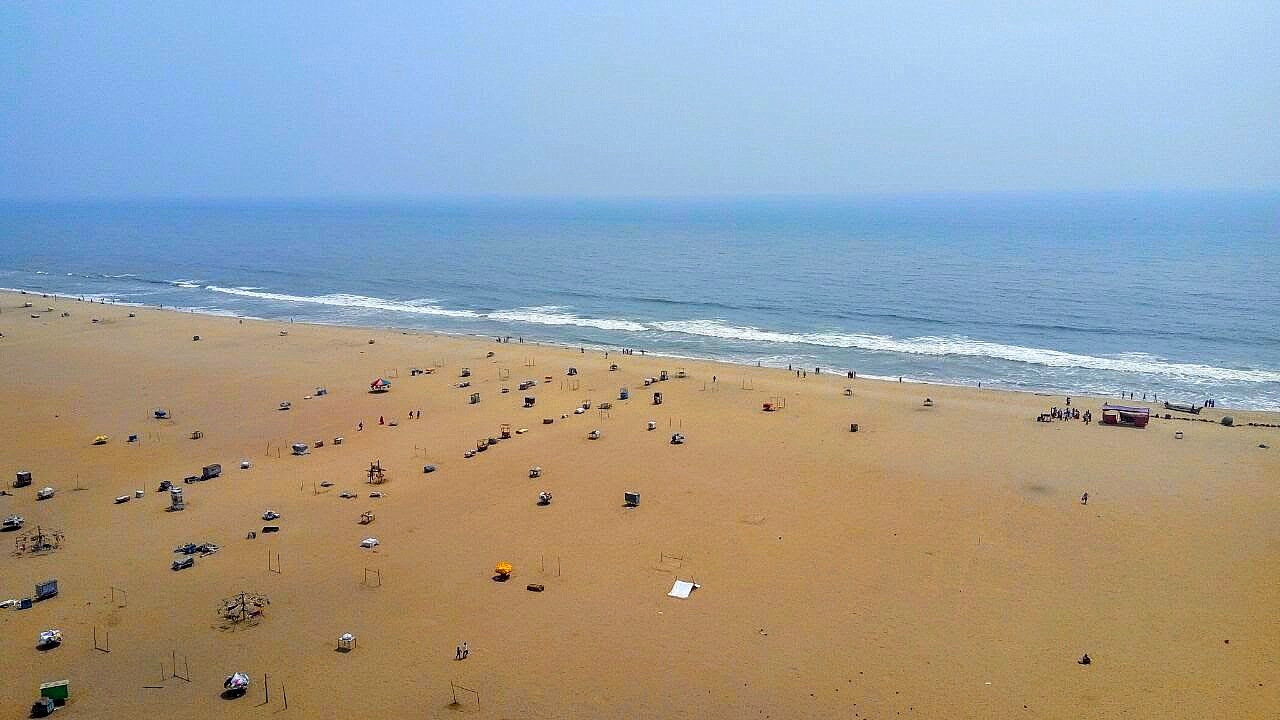 Weekend - A view of Marina Beach